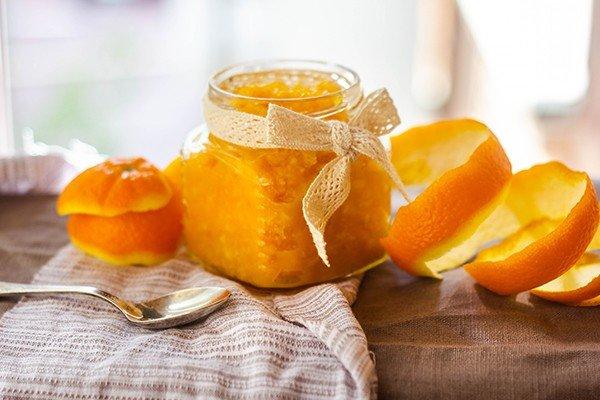 Апельсин: джем и цедра