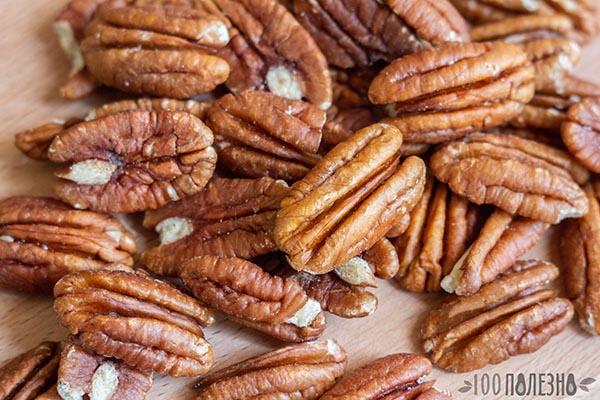 Орехи пекан очищенные
