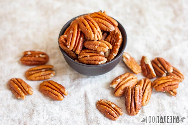 Орехи пекан без кожуры
