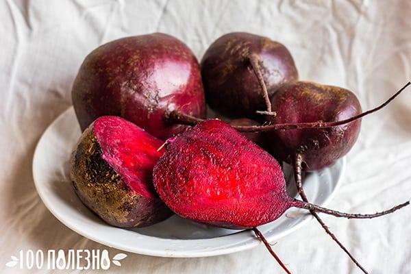 Целые и разрезанные корнеплоды