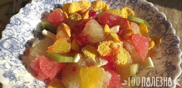 фруктовый салат из свити и других цитрусовых
