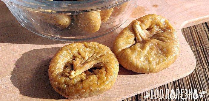 плоды сушеного инжира