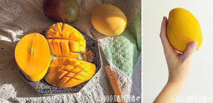 манго фото плодов