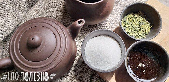 Порошок стевии, сухие листья и чай