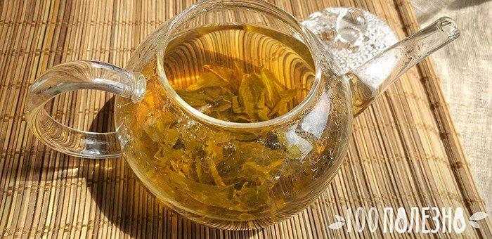 чай с листьями стевии для похудения