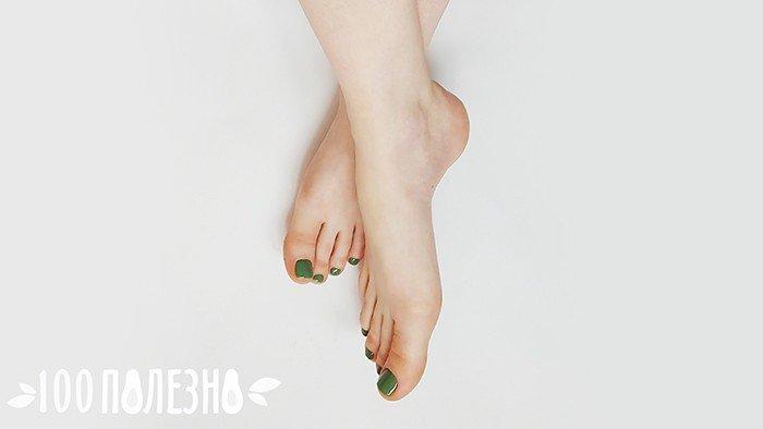 ухоженные ноги без мозолей