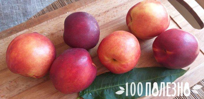 гладкокожая разновидность персика