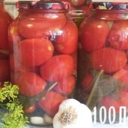 Как консервировать помидоры – рецепт «Маринованные помидоры на зиму», ну очень вкусные (на 1 литр, 2 или 3)