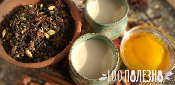 индийский напиток масала и приправы