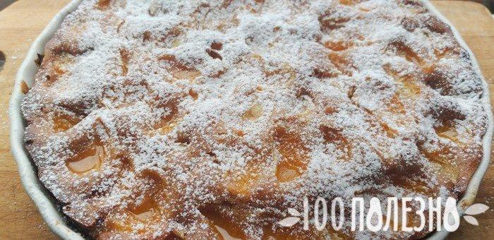 мандариновый пирог из духовки