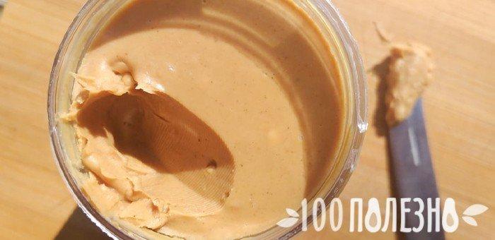 банка с арахисовым маслом