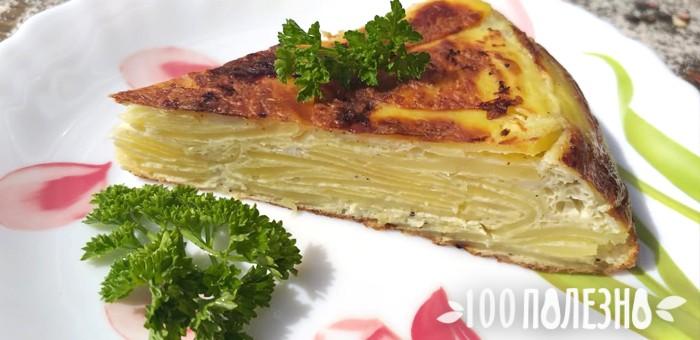 Испанская тортилья на ужин