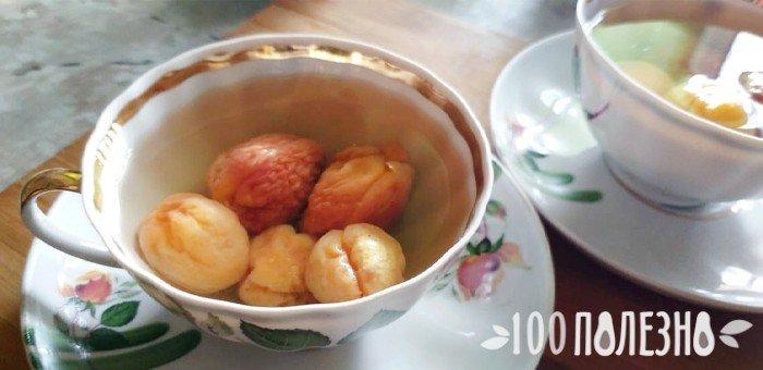 компот из сушеных абрикосов