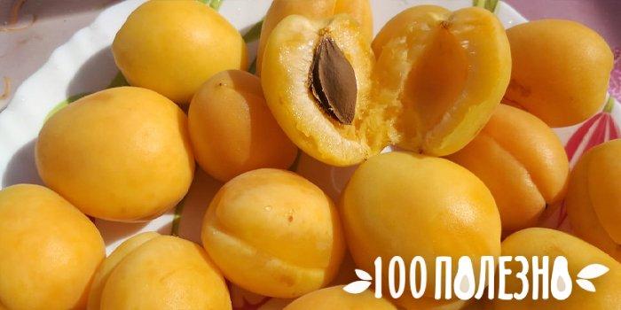 абрикосовые плоды