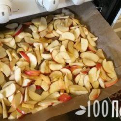 Как сушить яблоки в духовке на противне газовой и электрической плиты – советы, технология
